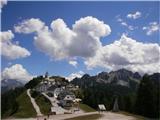 Romanje na Sv. VišarjeMangrt in Jalovec sta se zavijala v oblake, Kamniti lovec pa je vabil... a tokrat ni zvabil:)