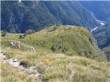 Monte Pisimonitežko si je predstavljati, da so bile visoko nad doline žive planine