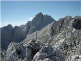 Prečenje Via de la Vita - Vevnica - Strug - PonceJalovec z vrha Struga