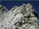 Prečenje Via de la Vita - Vevnica - Strug - Poncevzpon na Visoko Ponco