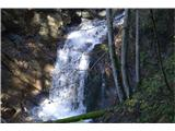 Slovenski slapovi vodotokov To je prvi  Ankov slap.