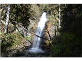 Slovenski slapovi vodotokov To je pa drugi Ankov slap.