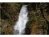 Slovenski slapovi vodotokov Trenutno sta prav mogočna .