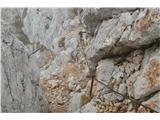 Kalški grebenPrve jeklenice na grebenu.