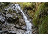 Slovenski slapovi vodotokov Nato se zapeljem do gostilne Kanonir na Spodnjem Jezerskem in proti Jekaric .Pritoki rečice Reke tvorijo lepe slapove. Izvirajo na Medvedjeku. Ti slapovi so na desni strani ceste.Prvi je ta.