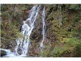 Slovenski slapovi vodotokov To je pa že tretji oziroma drugi večji slap.