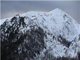 ZelenicaSrednji vrh in Stol