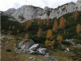 Krnička gora iz Matkove KrniceOd stanu v Matkovi Krnici je bore malo ostalo ...