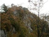 Greben Brezniških pečiGreben v nadaljevanju, kar nekaj vršičkov prehodimo. Glavni so Mali vrh, Gosjak, Golovec in Veli vrh (ali Smokuški imenovan)
