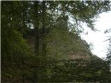 Greben Brezniških pečiTa pogled pove, da ste prav. Lovska opazovalnica najbrž (za Wc je malo daleč z doline...)