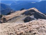 Creta di Rio Secco (2203)po travah je šlo prav lepo do....
