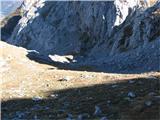 Creton di Tul (2287) in Creta Forata (2462)lagoden sestop