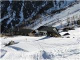 Romatenspitze, 2696 m...do planine Jamnigalm....nazaj do izhodišča je samo še nekaj zavojev....:-)))