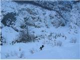 Grape, slapovi, zimski alpinistični vzponičrne vode