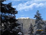 Uršlja Gora (Plešivec) 1699mob povratku pogled na vrh