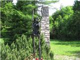 Gorska obeležja NOBSkulptura smrti
