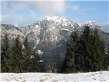Crete dal Cronzmali in veliki Malvueric, lahko tudi Mala vrha