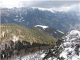 Crete dal Cronzplanina Glazzat je lepo vidna z vrha