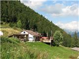 Montažin tudi nama ni bilo žal, da sva se ustavila v gostišču na spodnji Krnidolski planini