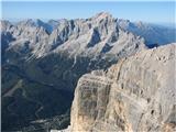 Monte Pelmo (3168)Dolomitska princesa Civetta