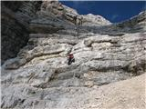 Monte Pelmo (3168)nazaj dol