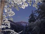 Uršlja Gora (Plešivec) 1699mJutranji pogled na Peco