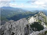 Krnička gora iz Matkove KrniceKo Mrzli gori obrnrm hrbet, se spogledam z še težje dostopno Matkovo Kopo in oddaljenim Obirjem,