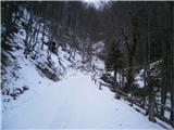 Prelaz Ljubelj (koča)belo, ampak ledeno...