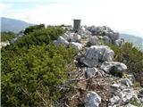 Velika planinaGradišče 1666m.