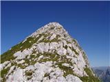 Žrd (2324m)Pot po grebenu.