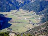 Goli vrh  1787 mnmKmetije na Zg.Jezerskim