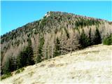Goli vrh  1787 mnmGoli vrh iz Jenkove planine