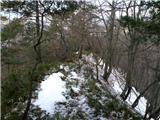 Polhograjska Grmada in Toščseverni grebenček iz smeri Hrastnice