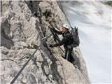 Visoki Kaninv steni, spodaj obširna kaninska snežišča