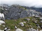 Kalška goraproti vrhu