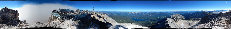 Zugspitze(2962m)