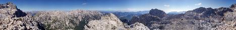 Begunjski vrh(2461m)