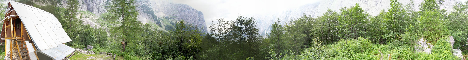 Bivak pod Luknjo(1480m)