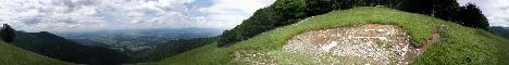 Zavetišče v Hudičevem borštu(1328m)