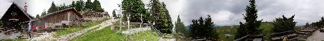 Jarški dom na Mali planini(1520m)