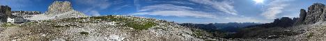 Rifugio Pisciadu(2585m)