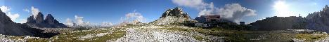 Rifugio Locatelli(2405m)