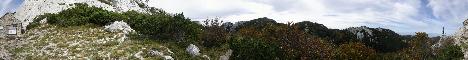 Rossijevo sklonište (bivak)(1580m)