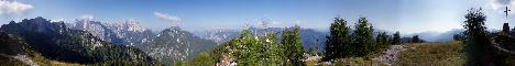 Svete Višarje / Monte Lussari(1766m)