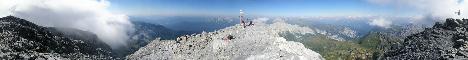 Monte Coglians (Hohe Warte)(2780m)