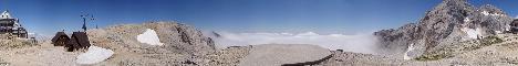 Triglavski dom na Kredarici mountain hut(2515m)