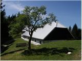 Tomčeva koča na Poljški planini mountain hut