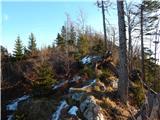 Podvolovljek (Petkov graben) - bivak_na_kalu