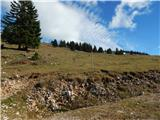Planina Jezerca - krzisce_pokovse