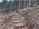 Potok (Mostni graben) - Dom planincev Farbanca